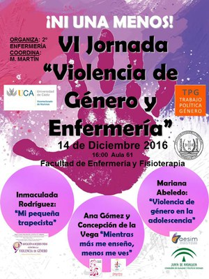 VI Jornada de Violencia de Género y Enfermería