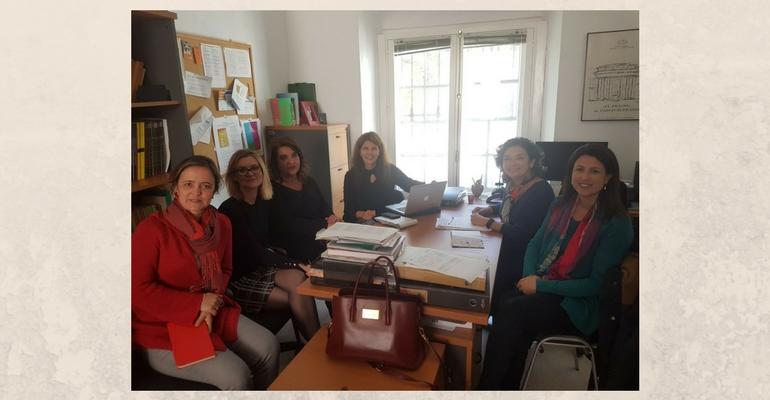 Visita y conferencia de Raquel Partida, investigadora y profesora de la Universidad de Guadalajara (México)