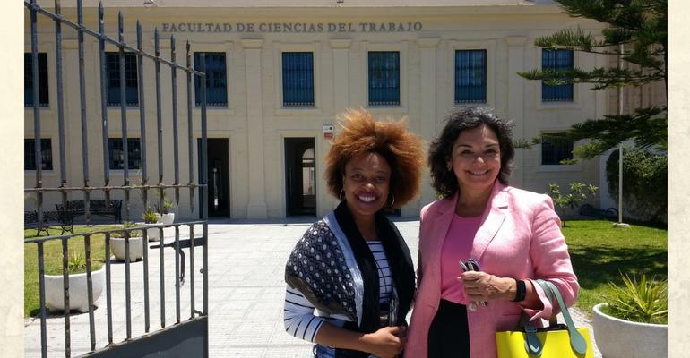 Visita de Geydis Fundora Nevot, doctoranda en la Universidad de La Habana (Cuba)
