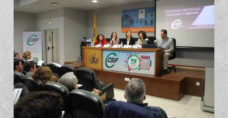"""IV Jornada Provincial de Igualdad y Respeto: """"La mujer y el Trabajo"""""""