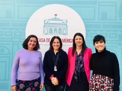 Presentación de la  Red TRAGEVIC y del OPIG en la Casa de Iberoamérica en Cádiz